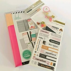 Heidi Swapp Memory Planner and accessories